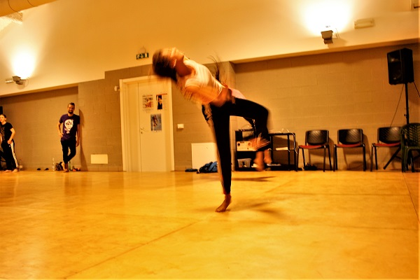 impro danzatrice