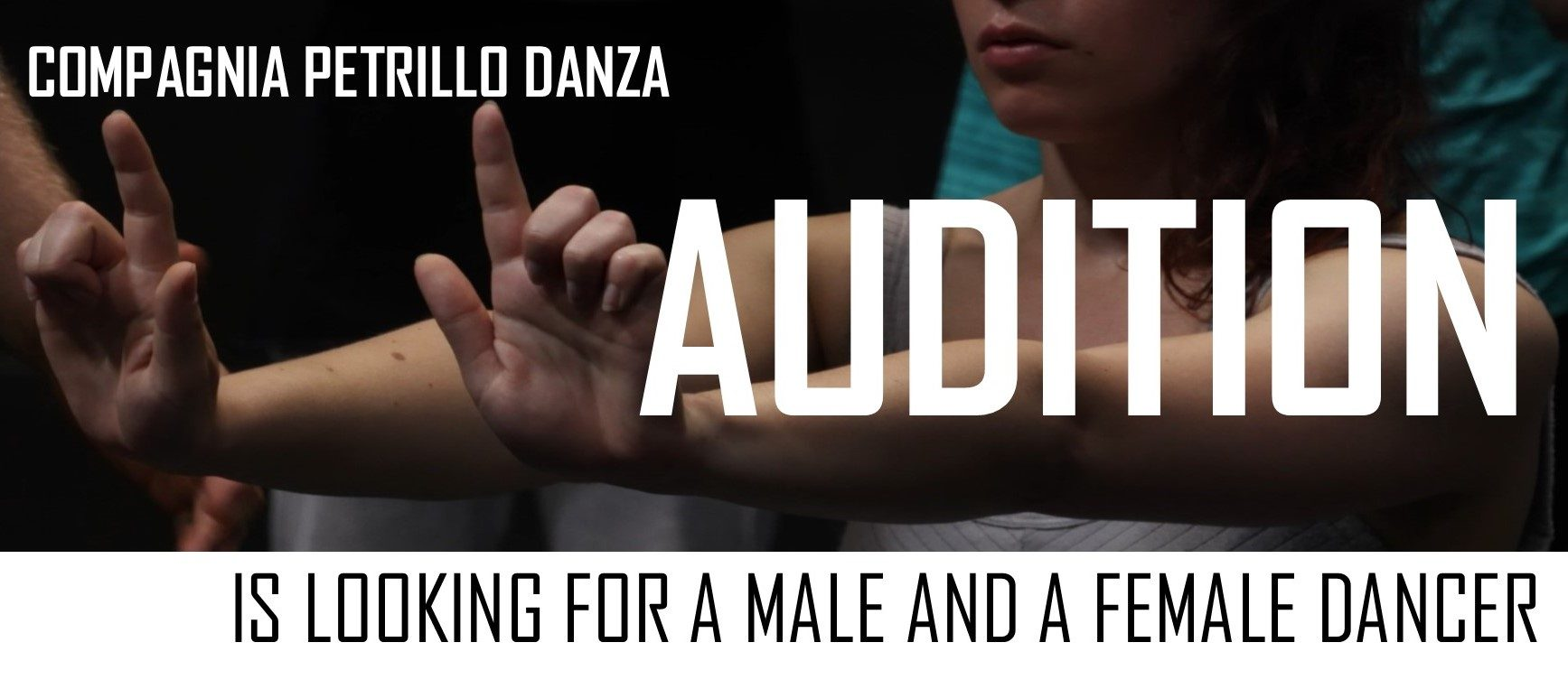 AUDITION FOR MALE AND FEMALE DANCER