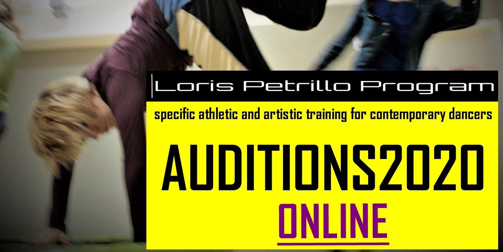 online auditions specific advanced program by compagnia petrillo danza