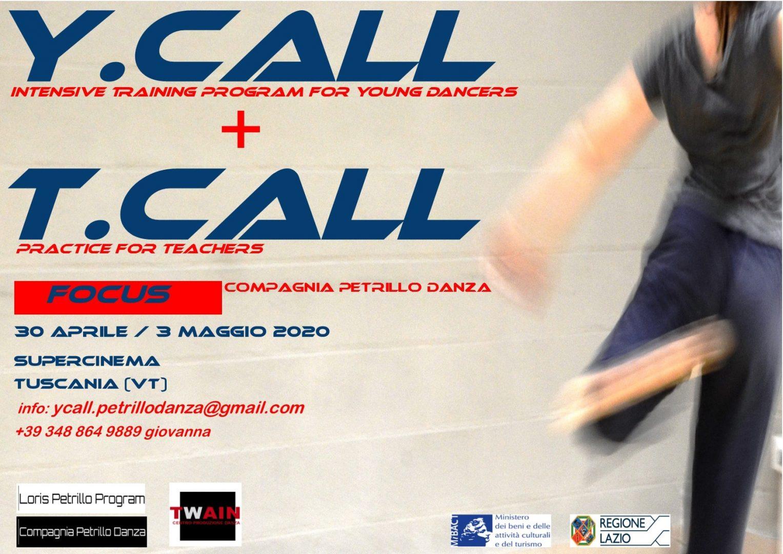 ycall intensive training program for young dancers - tcall practice for teachers - corso per insegnanti di danza