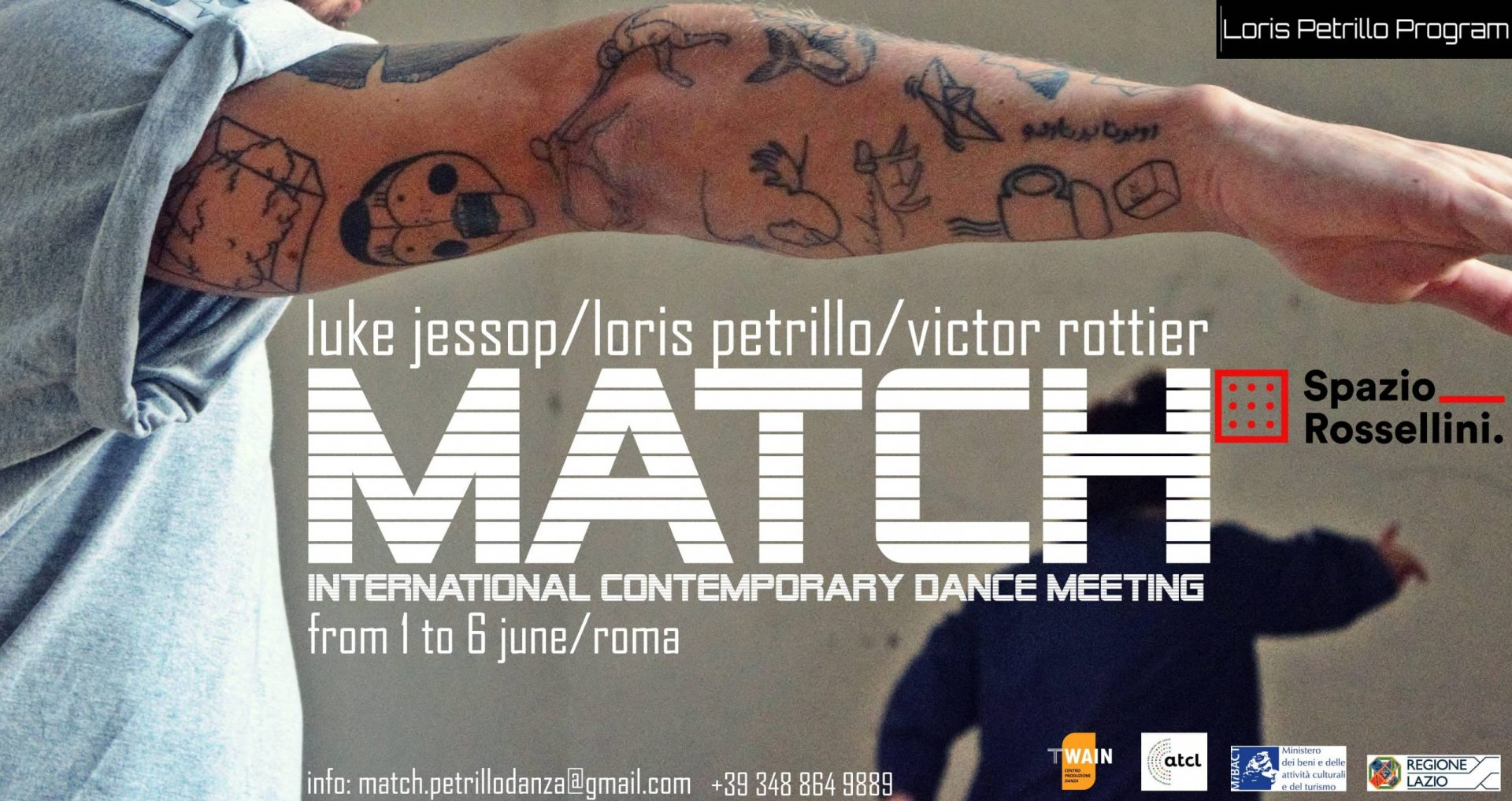 match international contemporary dance meeting 2021